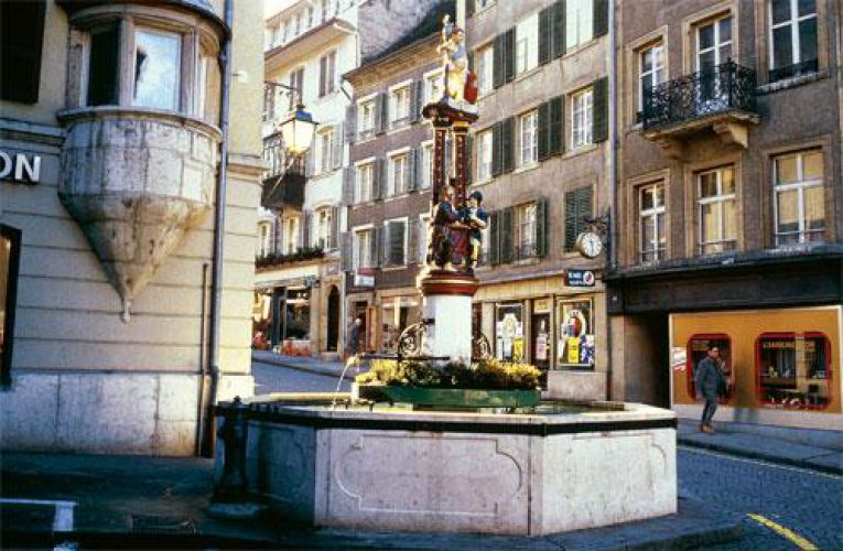 Fontaine à Porrentruy